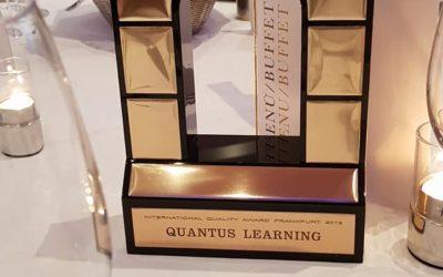 Quantus Learning Honoured with Prestigious International Quality Award, Arch of Europe (Frankfurt, Germany)